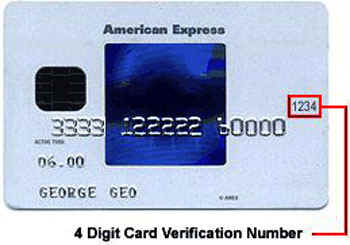 American Express credit card picture